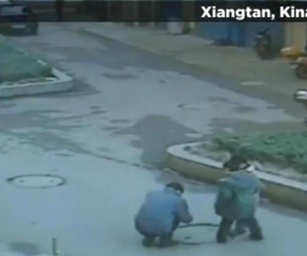 Never Drop a Firecracker Down a Manhole