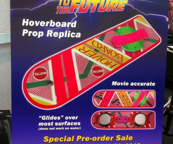 Mattel's Official Back to the Future Hoverboard: But Will it Hover?