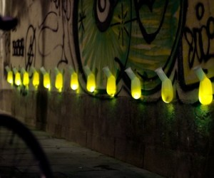 Illuminated Micro Toilets Make a Loud Statement About Peeing in Public