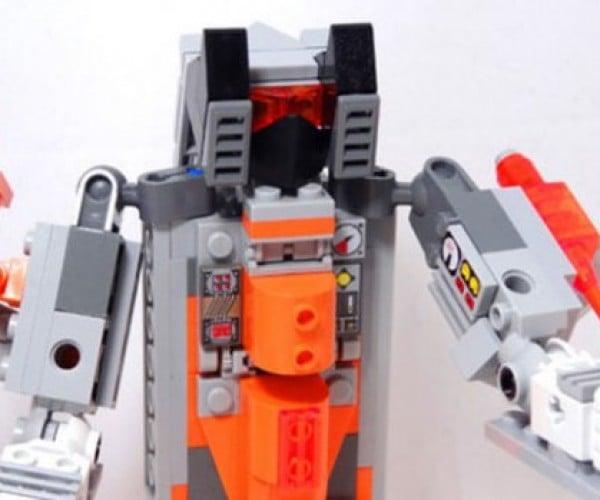 LEGO Megatron Turns into an NES Zapper