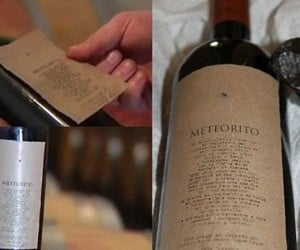 Meteorito Wine Was Sent Down from the Heavens