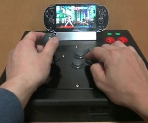 PS Vita Fight Stick Mod is Like Having an Arcade Cabinet with a Tiny Screen