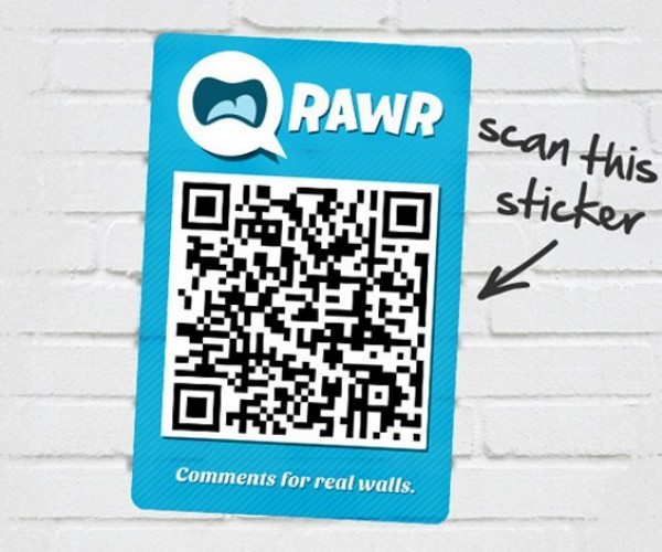 QRawr Lets You Comment on Real-Life Objects