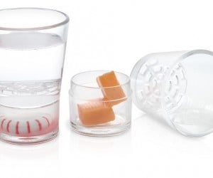 Sidekick Shot Glasses Give You Something to Chew on the Side