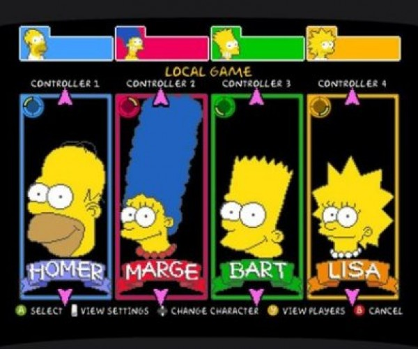 Simpsons Arcade Game Hits Xbox LIVE Doh!