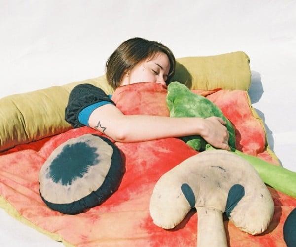 Pizza Sleeping Bag: Mushrooms, Extra Zzzzz