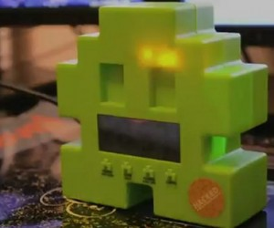 Space Invaders Alarm Clock Becomes a Gmail Notifier