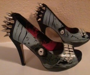 Warning: These Zombie Spike Heels Can Kill