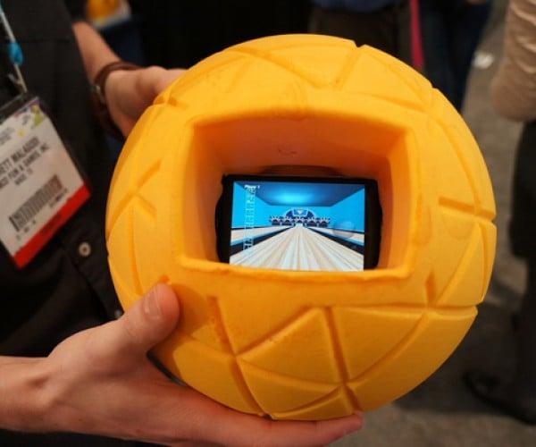 TheO Foam Ball: Throw Your Phone Around