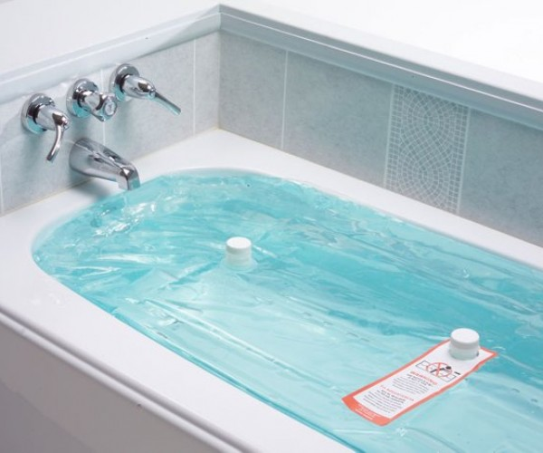 WaterBOB Helps You Store Clean Water in the Tub for Emergencies