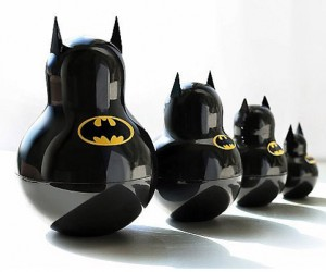 Batman Stacking Dolls: Batryoshka?