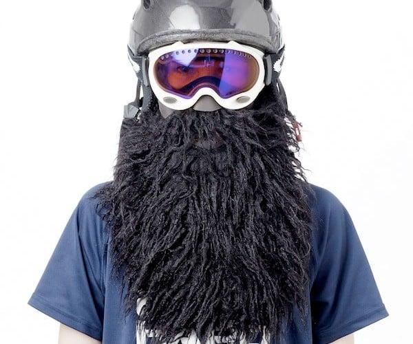 Beardski Bearded Ski Mask Protects Against Yeti Attacks, Attracts Women