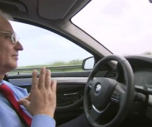BMW Highly-Automated Car Barely Needs You