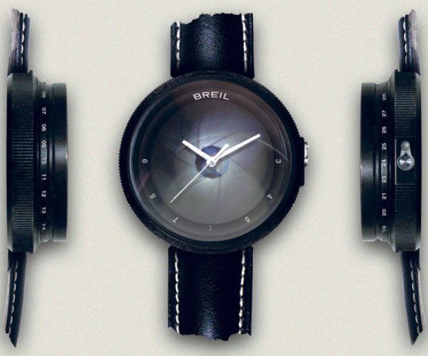 Breil Paparazzo Watch: Get Ready for Your Closeup Every Time You Check the Time