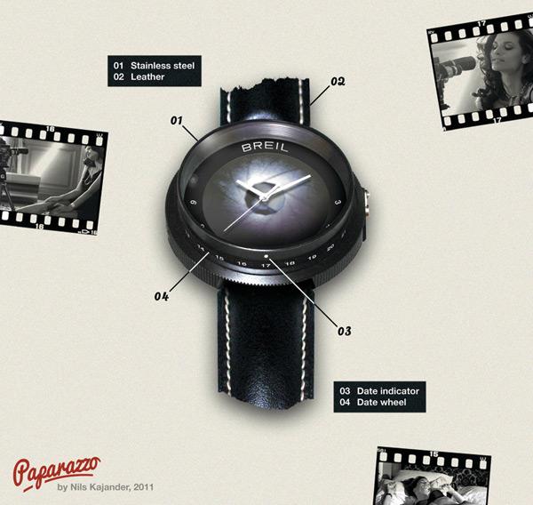 breil paparazzo watch timepiece nils kajander