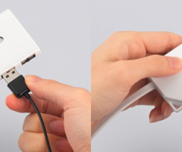 Buffalo USB Hub Believes The Customer is Always Right, Takes in USB Cords Even with Wrong Side Up