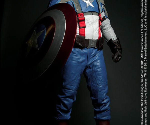 Captain America Motorcycle Suit: Harley Not Included