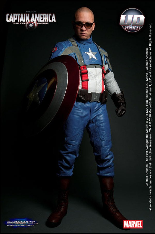 captain america motorcycle suit 1
