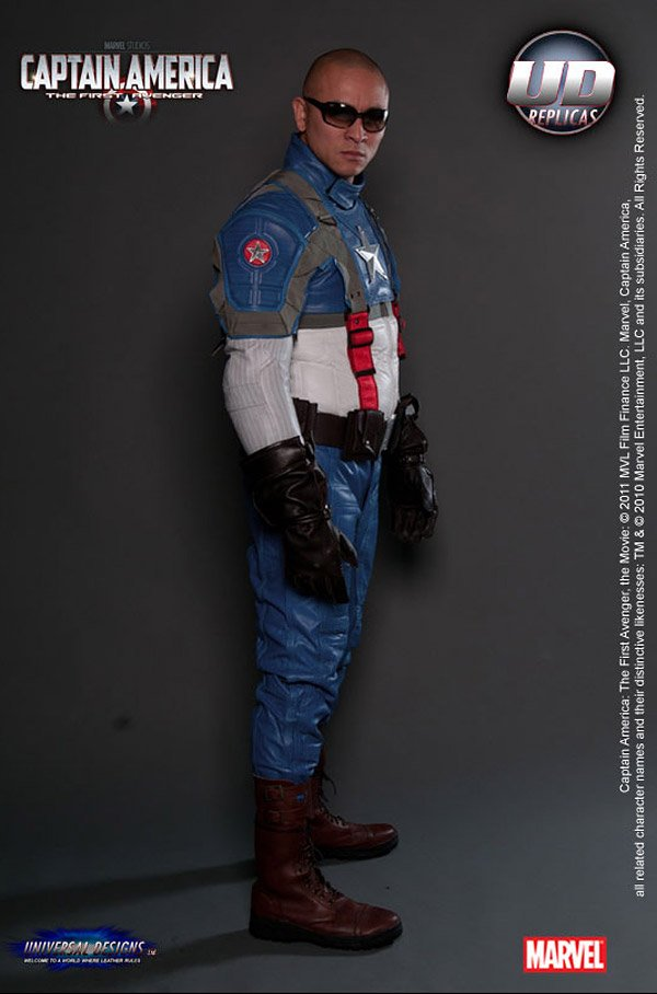captain america motorcycle suit 2