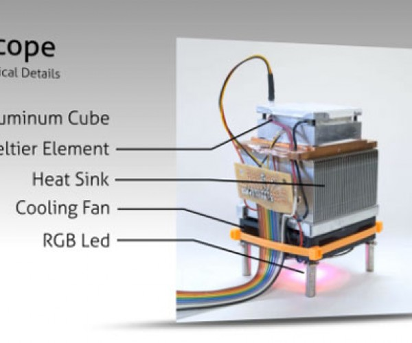 Cryoscope Lets You Feel the Temperature Outside from the Comfort of Your Home