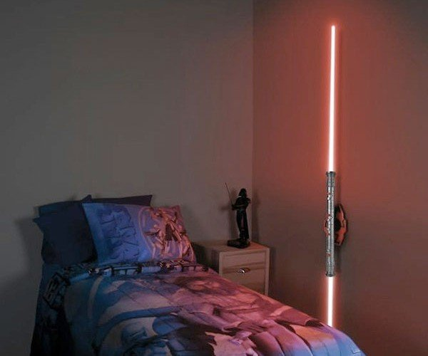 Darth Maul Lightsaber Wall Sconce: Dual-Bladed Photon Fury
