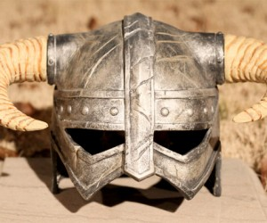 Real Skyrim Dragonborn Helmet Still Won't Save You from an Arrow to the Knee