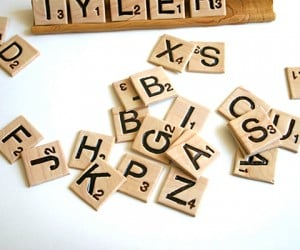 Edible Scrabble Tiles: Words with Taste