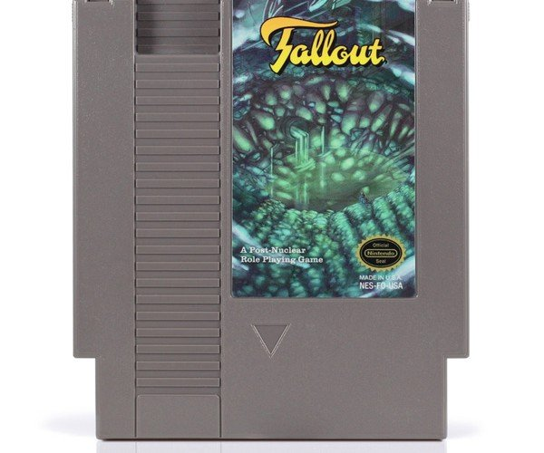fallout nes cartridge by nick robalik and 72pins 2