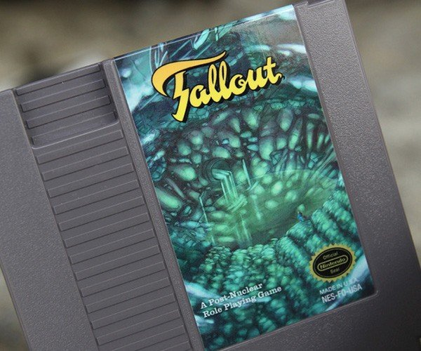 fallout nes cartridge by nick robalik and 72pins 4