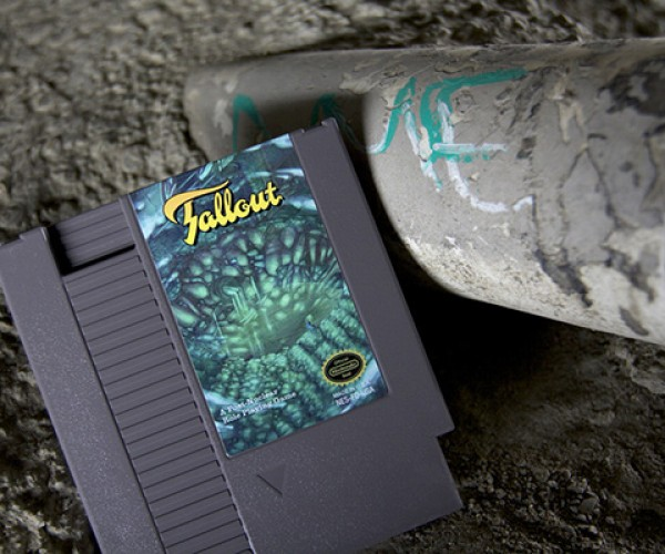 Fallout NES Cartridge Art: Relic from a Pre-Post-Nuclear Era