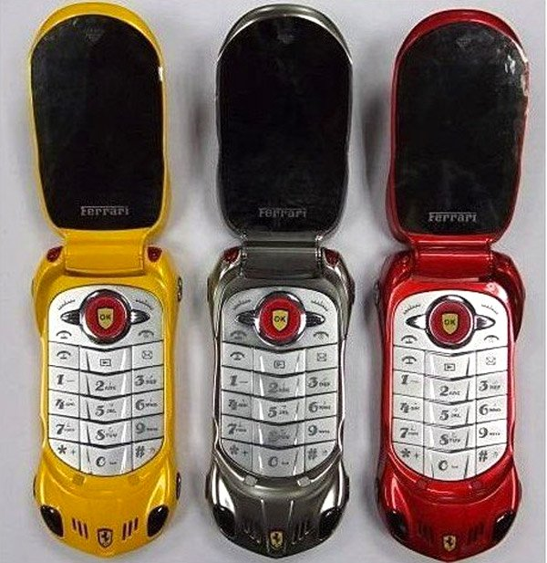 Ferarri Knock Off Cell Phones Defile The Ferrari Name