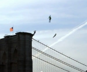 Sighted: People Flying Over New York City