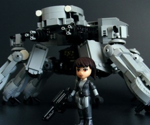 Ghost in the Shell Gets LEGO-fied