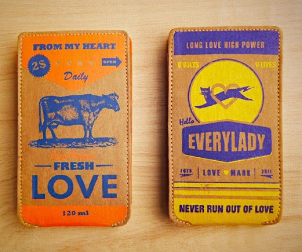 Goodluckgoods' Love Energizer Retro Cases Surround Your iPhone with Love