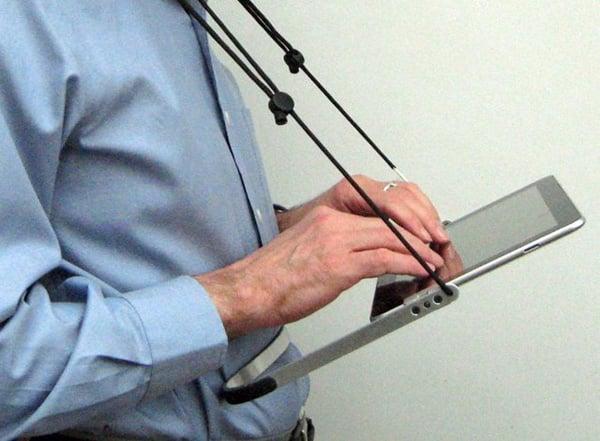 gopad ipad cradle tablet