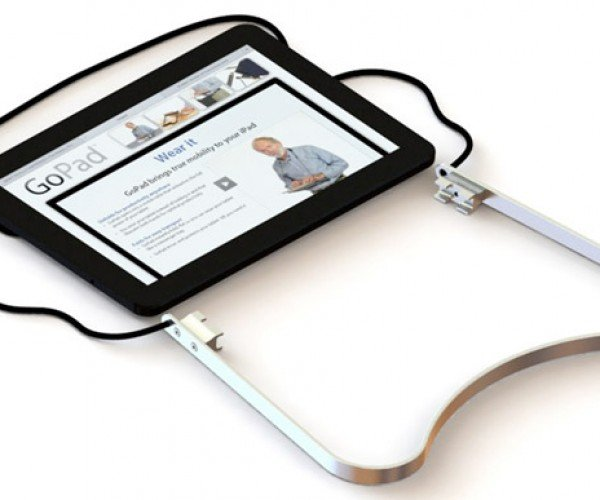 GoPad Tablet Cradle Lets You Wear Your iPad Around Your Neck