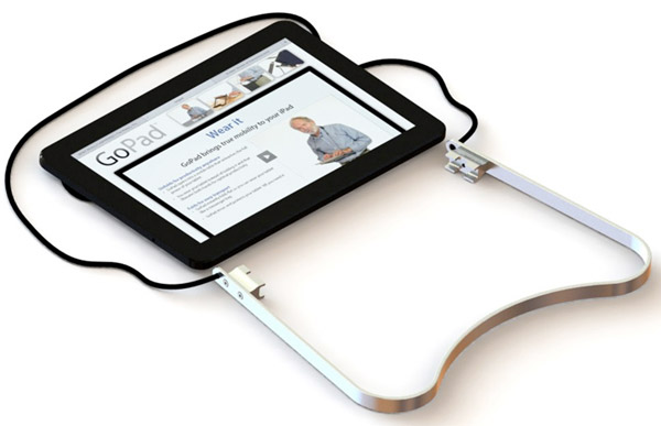 gopad tablet necklace