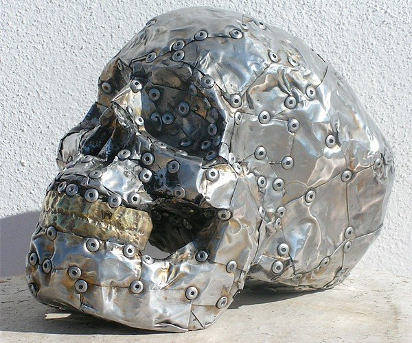 Metal Skull Dude is One Hard-Headed Bloke