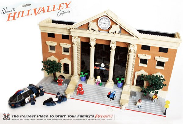 hill valley 2015 lego 1