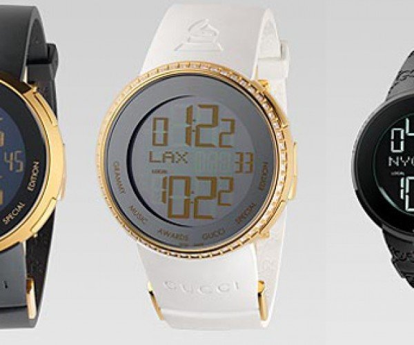 I-Gucci GRAMMY LCD Watch: Fancy and Pricey, but for a Good Cause