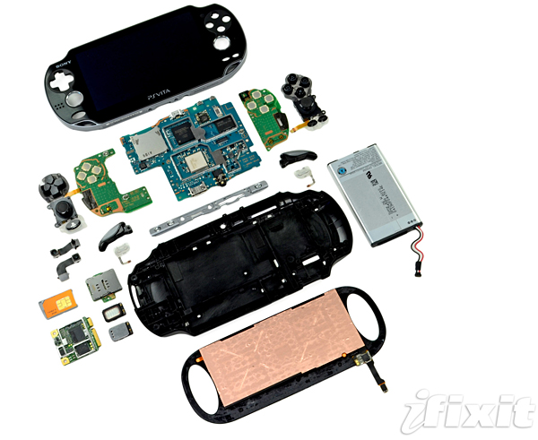 ifixit playstation vita teardown
