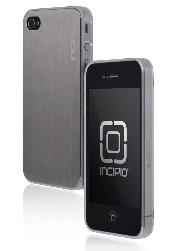 incipio le deux iphone case silver