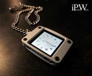 iPocketWatch Case Turns Your iPod nano into a Stylish Pocket Watch