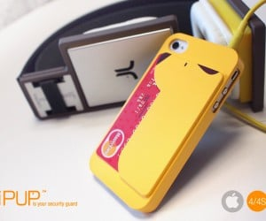 iPUP iPhone Case Offers Safe Storage for Magnetic Cards
