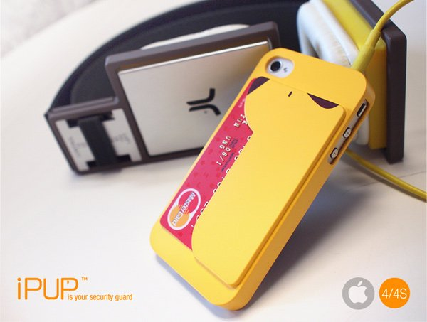 ipup credit card case iphone secure