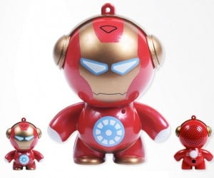 Iron Man Mini Speaker Powers Up Via USB, Not an Arc Reactor