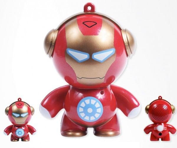 Iron Man Mini Speaker Powers Up Via USB, Not an Arc Reactor