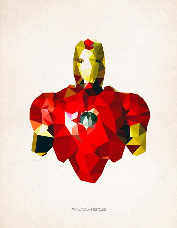 james reid superhero hero polygon