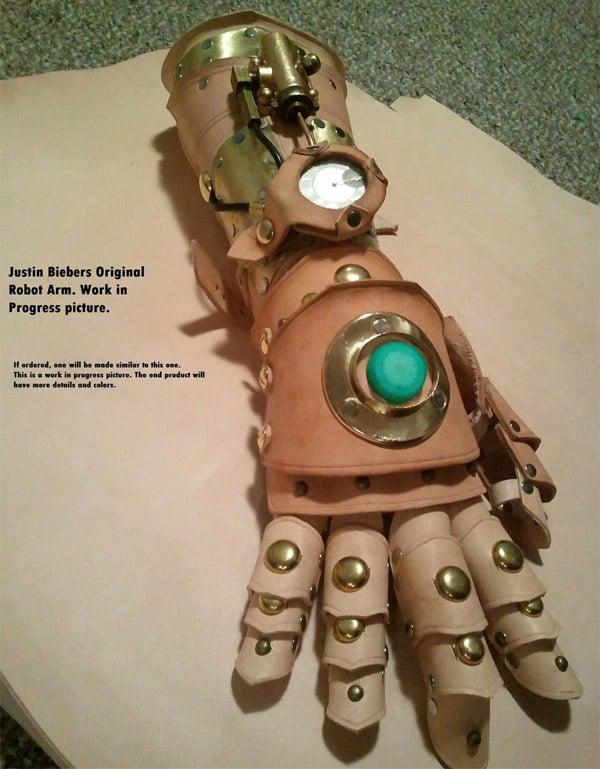 justin bieber steampunk glove 3