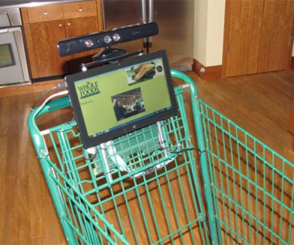 Automated Shopping Cart: Most Awesome Kinect Project Yet?